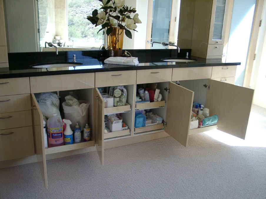 Pull Out Shelving For Bathroom Cabinets Storage Solution Shelves - Bathroom vanities with shelves