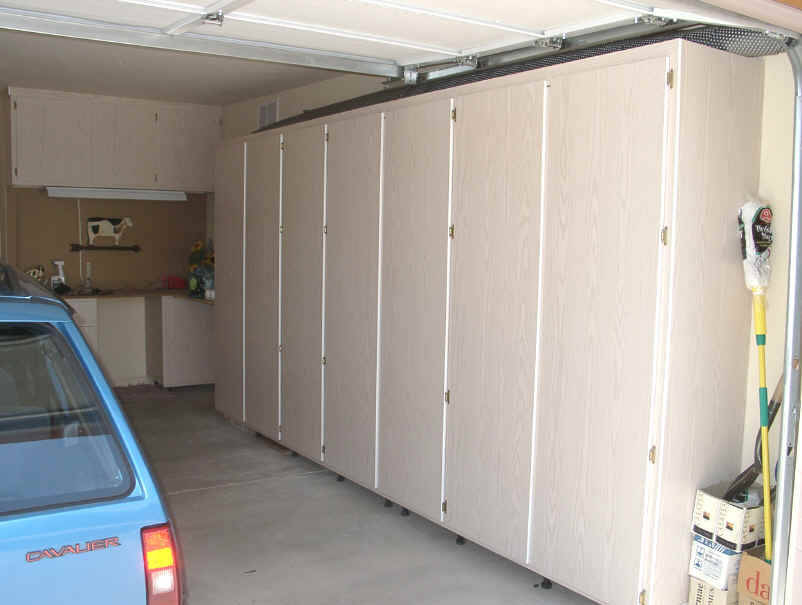 build your own garage cabinets