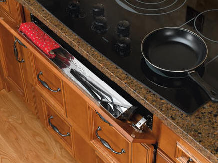 get organized kitchen accessories simplify your life tip out trays for sink front kitchen cabinets, products from Rev-A-Shelf room for ring storage, never loose another ring while doing dishes