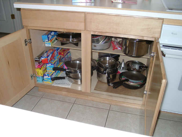 Click To Enlarge For Pull Out Shelves From Shelves That Slide Custom Made Pull Out Shelf Click To Enlarge Slide Outs Roll Outs Kitchen Cabinet