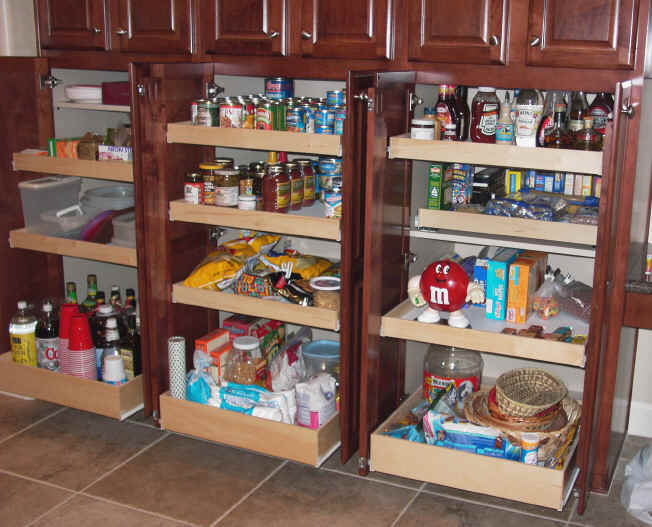 Outstanding Pull Out Kitchen Pantry Storage Shelves 652 x 527 · 47 kB · jpeg