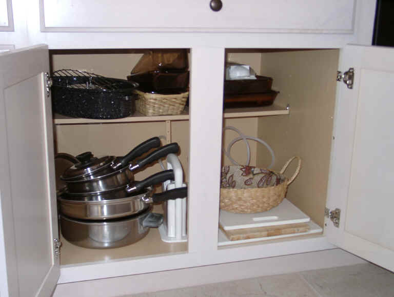 ... Kitchen Cabinet Organization Click To Enlarge Picture Of Roll Out  Shelves From Shelves That Slide Making Pull Out Shelves
