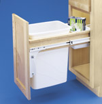 rev a shelf  pull out trash and recycling center systems from Shelves that Slide a large selection of sliding trash and pull out shelf sliding waste containers garbage slider sliding shelf pull out shelves for kitchen cabinets