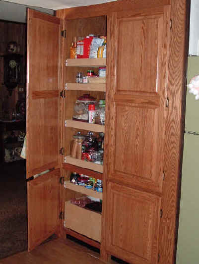 Pantry cabinet lowes cabinets matttroy for Food pantry cabinet lowes