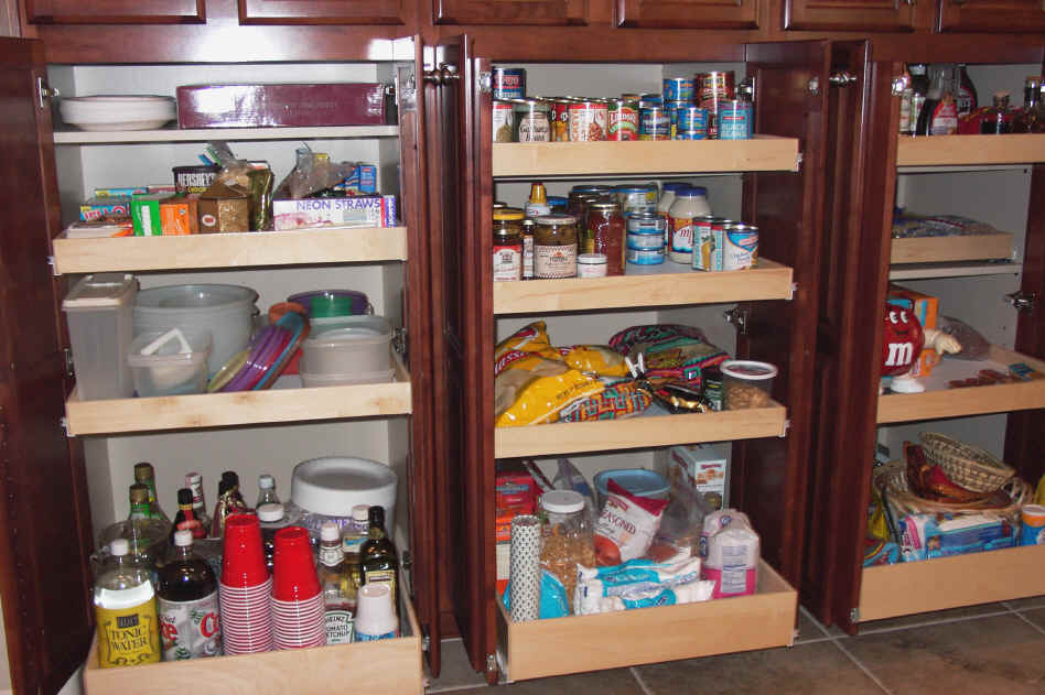 ... Cabinet Slide Out Shelves Click To Enlarge Pantry Pullouts ...