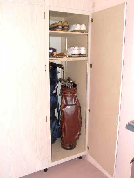 Golf Club Storage With Sts Garage Cabinet Prescott Tucson Green Valley ...