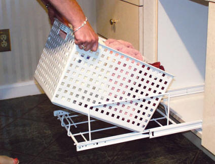 pull out laundry hamper